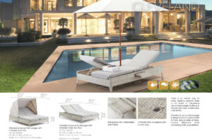 Комплект шезлогів Cleveland Contemporary Outdoor pg64