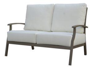 Двумісний диван з алюмінію SAVANNAH