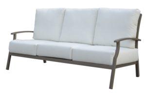 Тримісний диван з алюмінію SAVANNAH