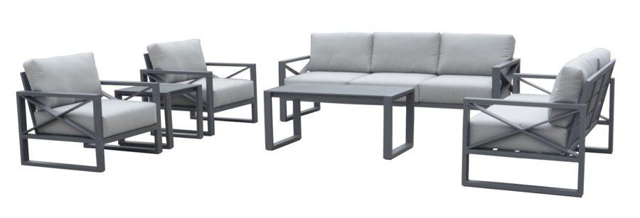 Набор диванный из алюминия LINEAR