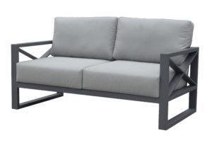 Двумісний диван з алюмінію LINEAR