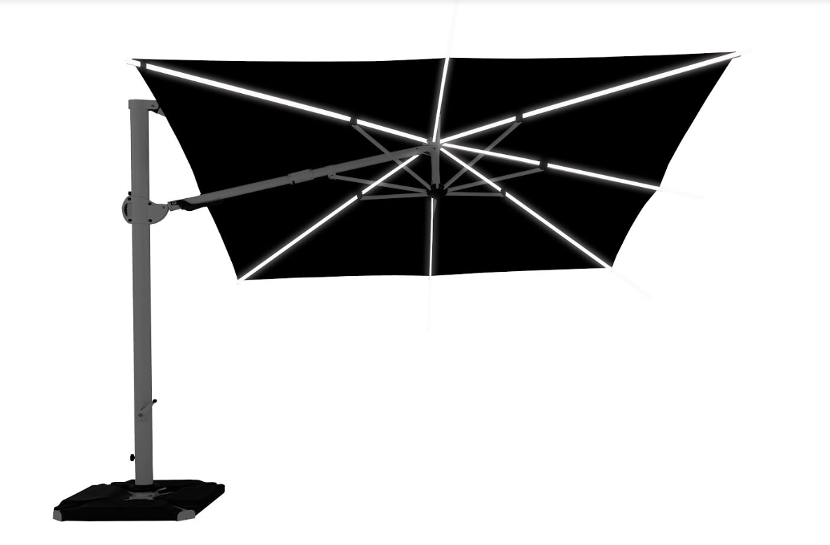 Зонт садовий консольний  D35 ROMA UMBRELLA