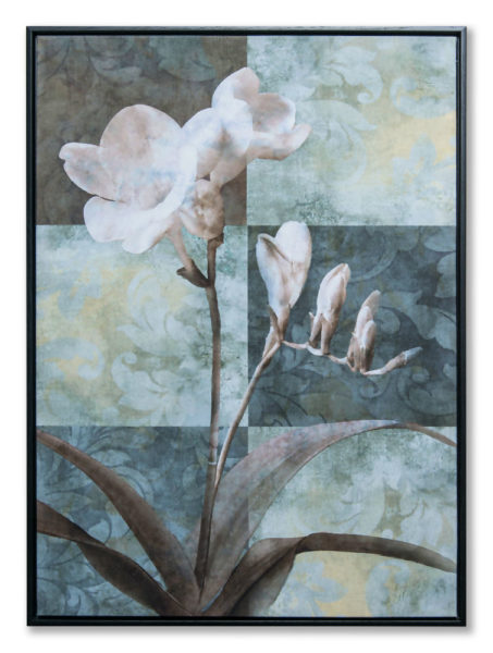 Картина в прямоугольной раме | Цветы