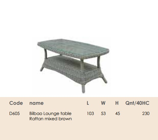 Стiл Bilbao Lounge table