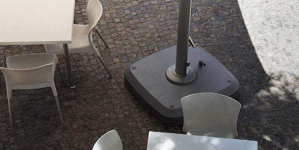 Зонт садовый консольный Boston 3x3