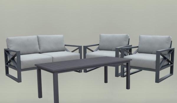 Liner набор садовой мебели