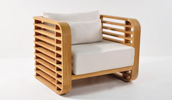 Ocean Teak Outdoor Chair