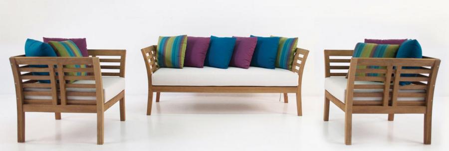 Кресло Teak Relaxing Sling Chair