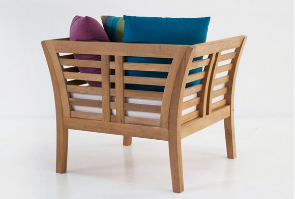 Plantation Teak Outdoor Chair