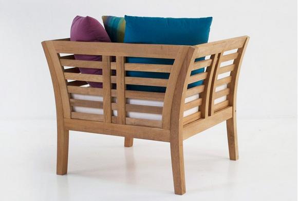Plantation Teak Outdoor Chair