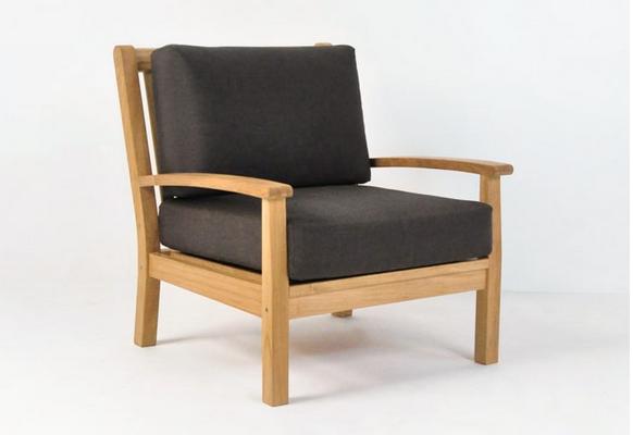 Naples Teak Outdoor Chair