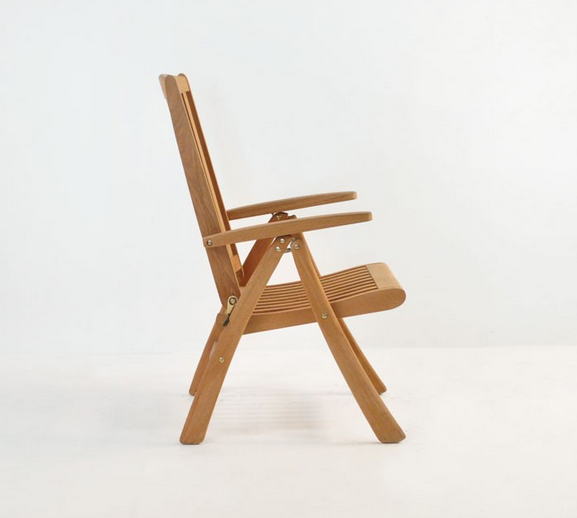 Кресло Teak Folding Relaxing Reclining Chair