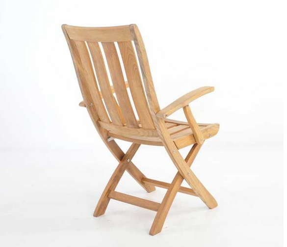 Bella Teak Outdoor Dining Arm Chair