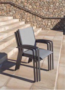 Крісло садове з алюмінію COSMO