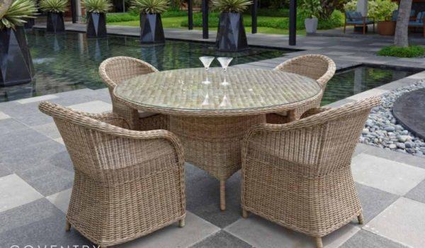 Набор садовой мебели из ротанга coventry