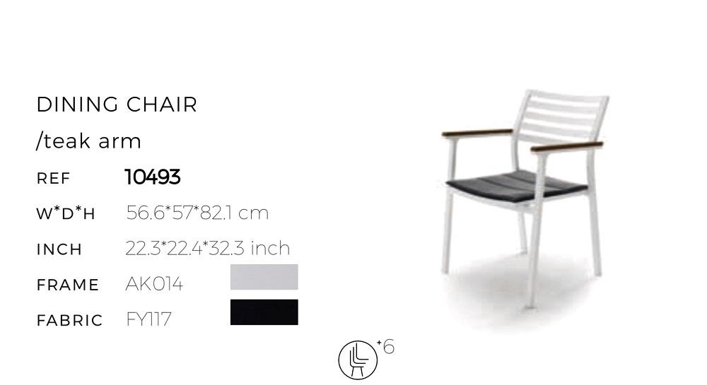 Кресло обеденное Klara