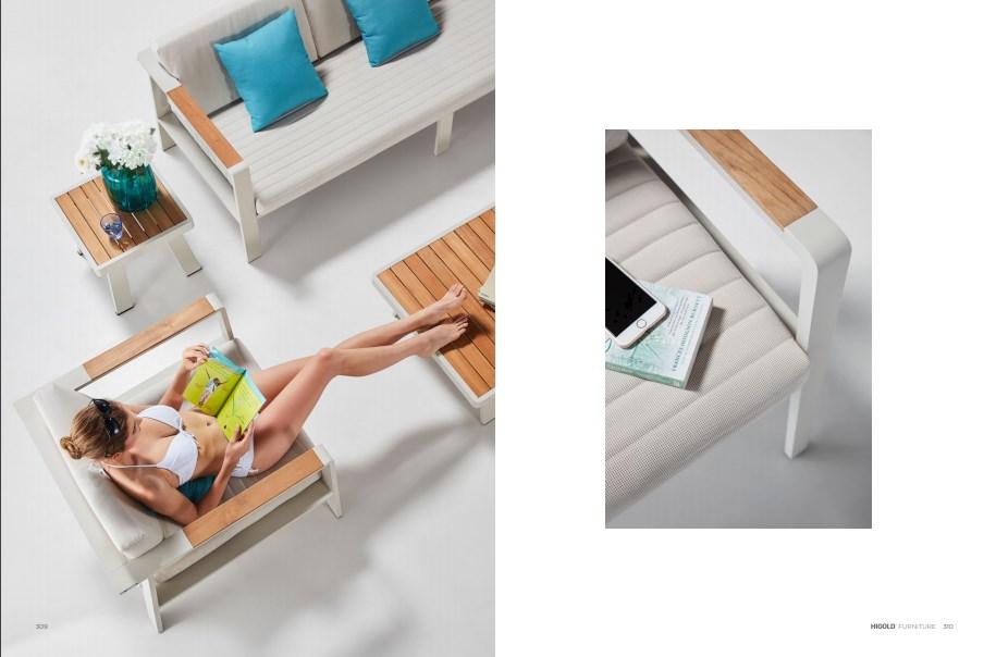 Комплект для отдыха  Nofi с 3-м диваном