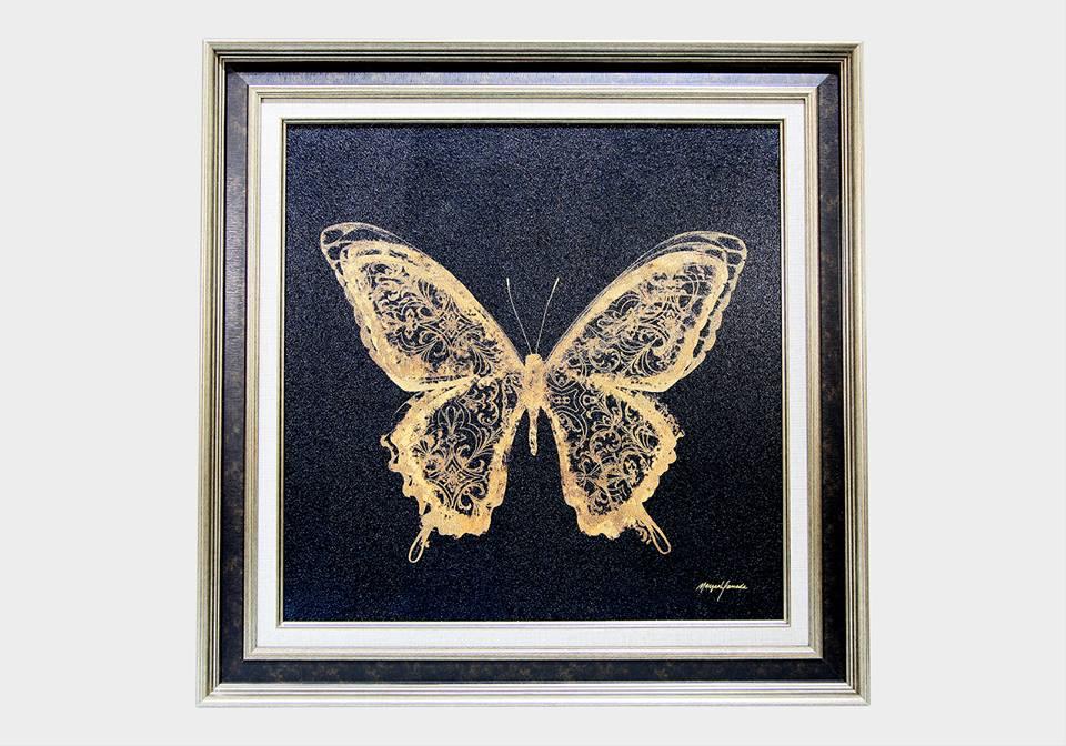 Картина в квадратной раме | Бабочка