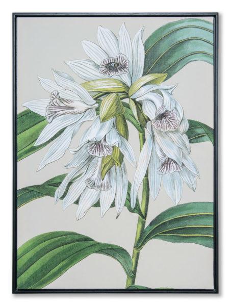 Картина в прямоугольной раме   Цветы