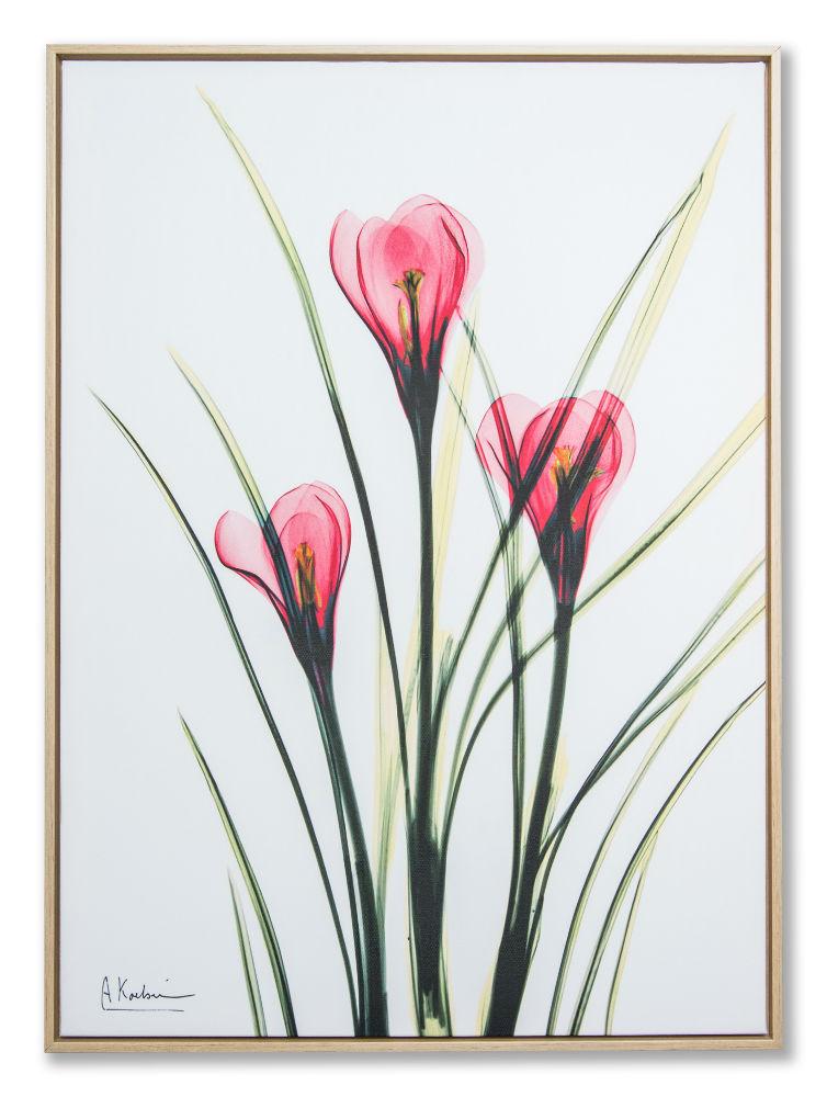 Картина в прямокутній рамі | Квіти