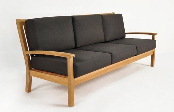 Диван Naples Teak Outdoor Sofa