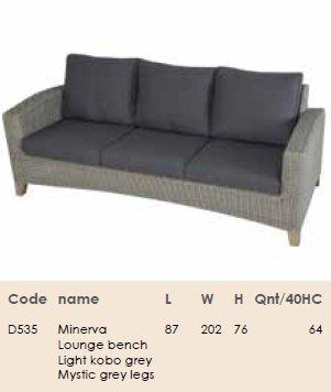 Комплект для отдыха  Minerva set
