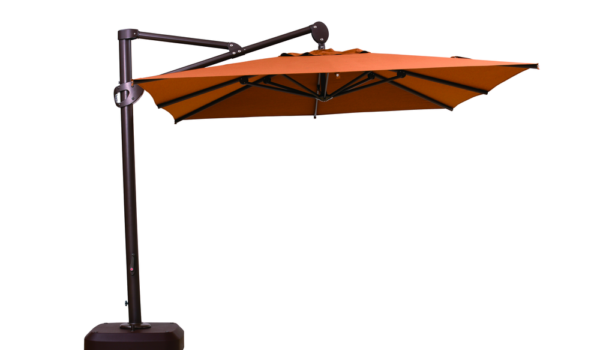 Зонт садовый консольный BOSTON