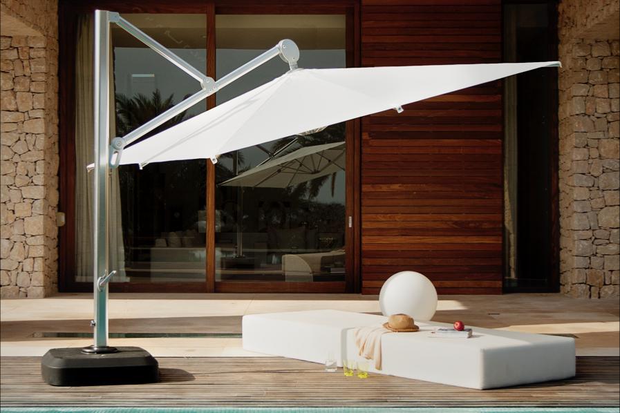 Зонт садовый консольный Peninsula PN 3х3