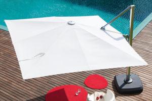 Зонт садовий консольний Sicily  3х3