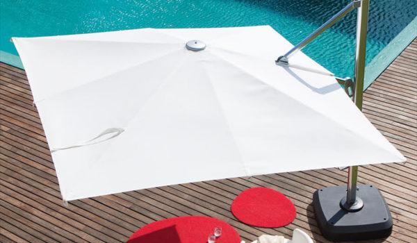 Зонт садовый консольный Sicily 3х3