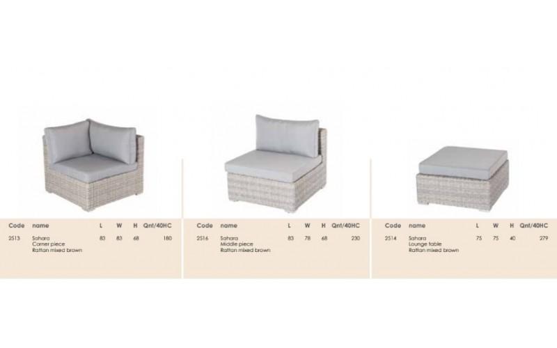 Набор мебели Sahara