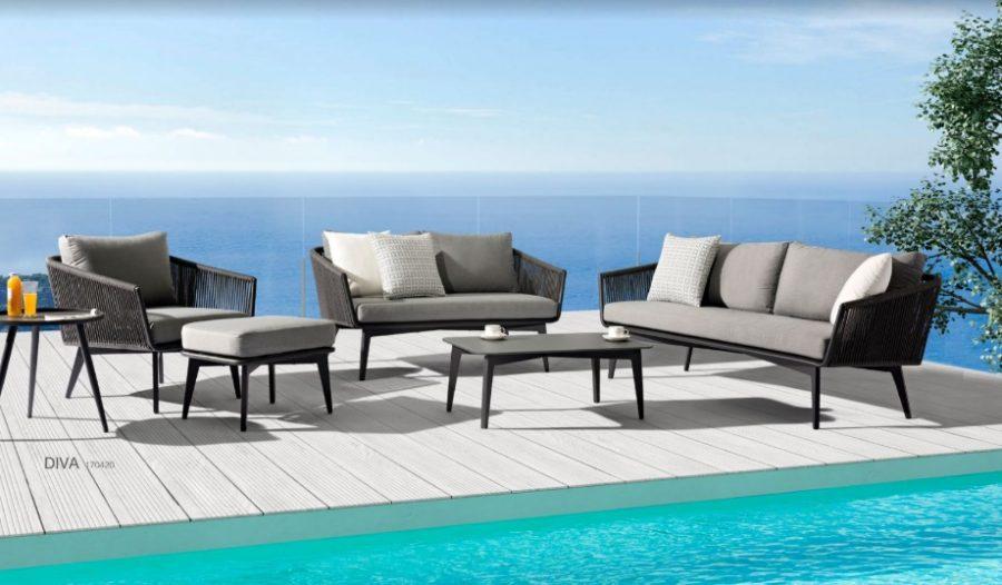 Комплект мебели для сада diva