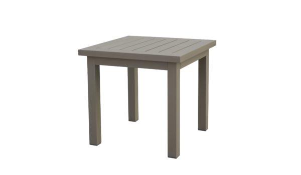 кофейный столик из алюминия linear