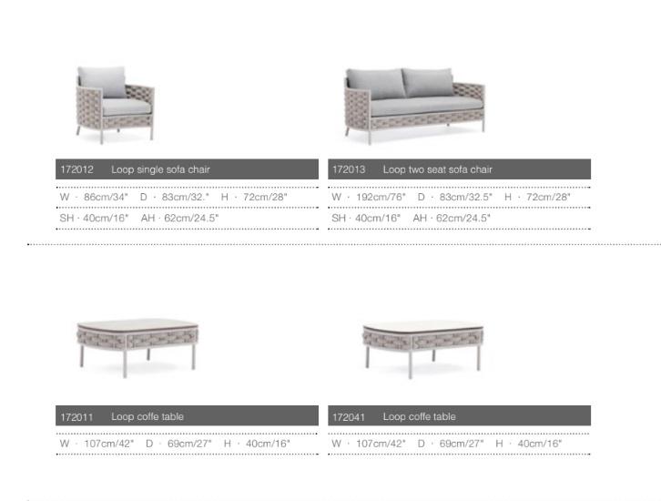 loop мебель для улицы