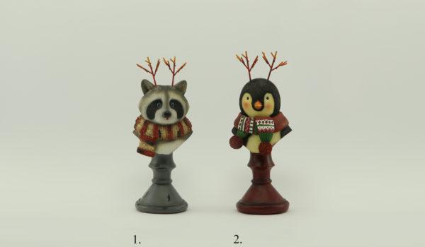 Енот и Пингвин Декор для дома