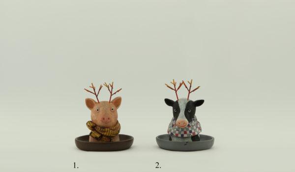 Свинья и корова Декор для дома