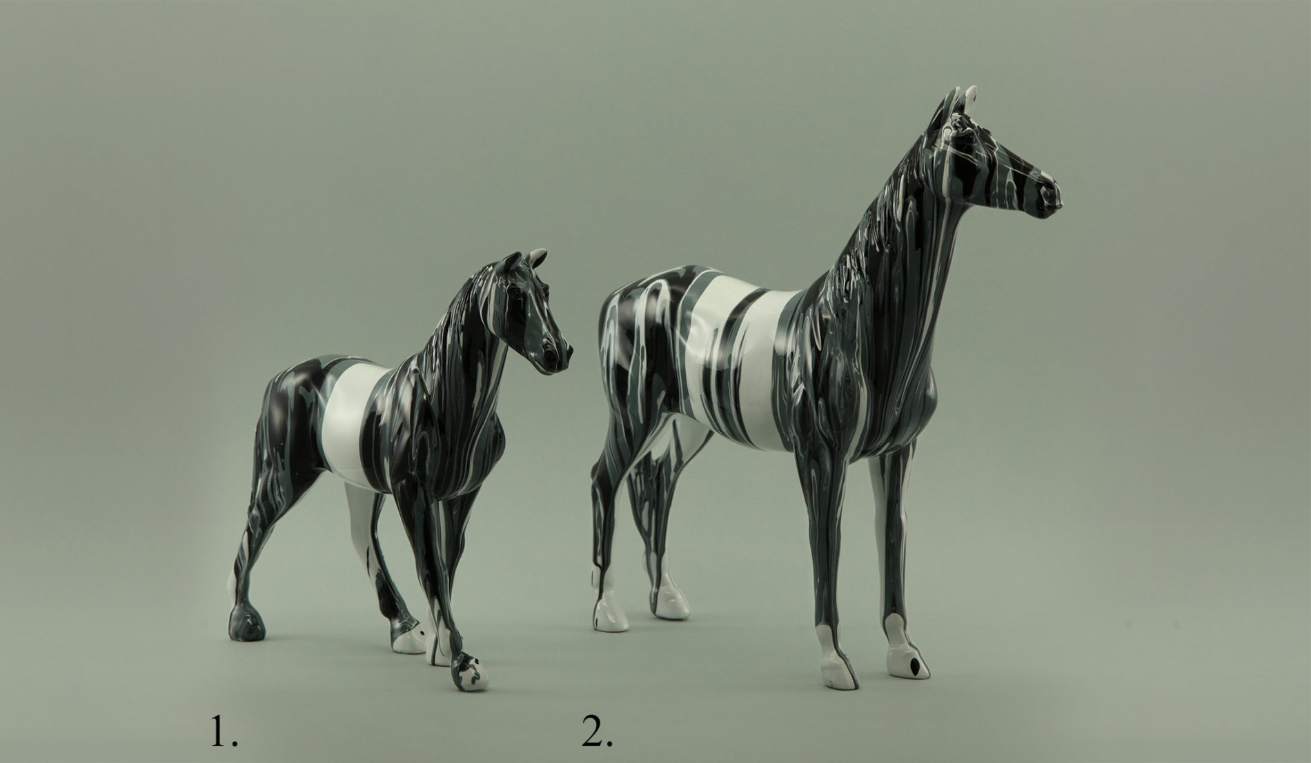 Декор в виде лошадей Статуэтки