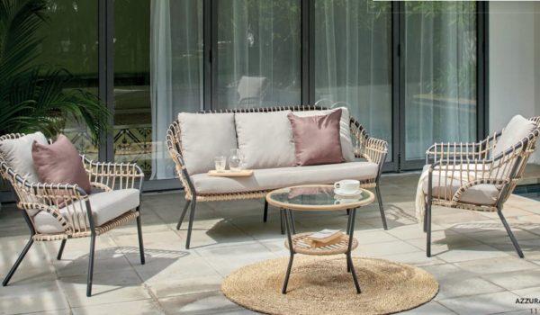 Садовый комплект мебели Alba