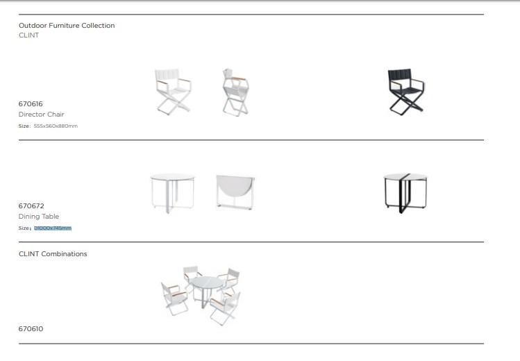 Столовый набор CLINT