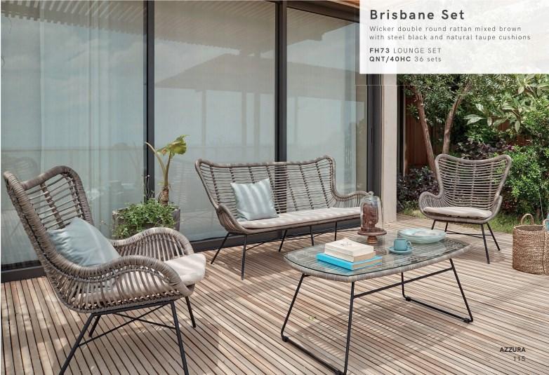 Диванный комплект Brisbane