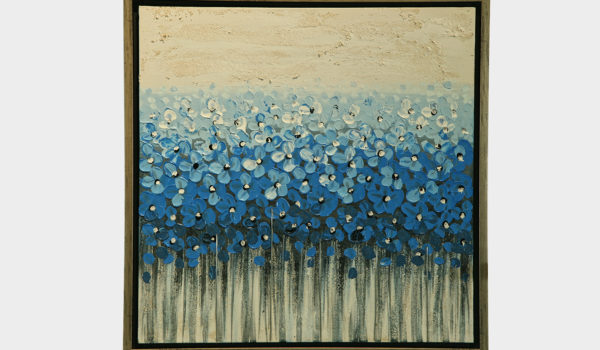 Картина Цветы Blue