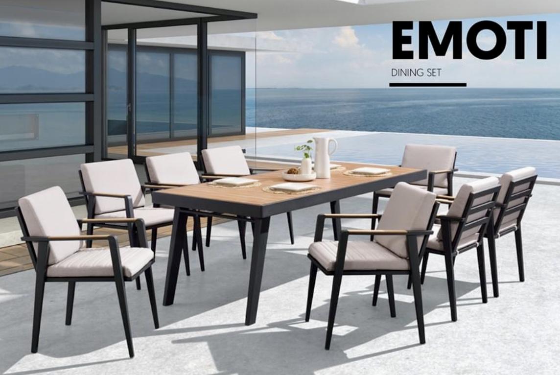 Столовый комплект Emoti на 8 человек