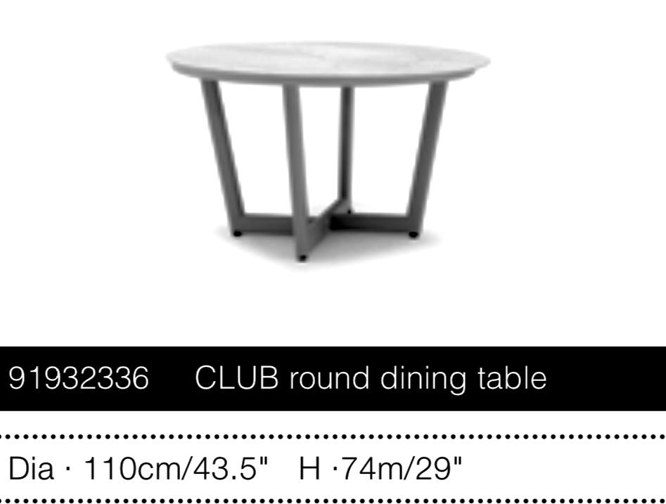 Стол CLUB d 110