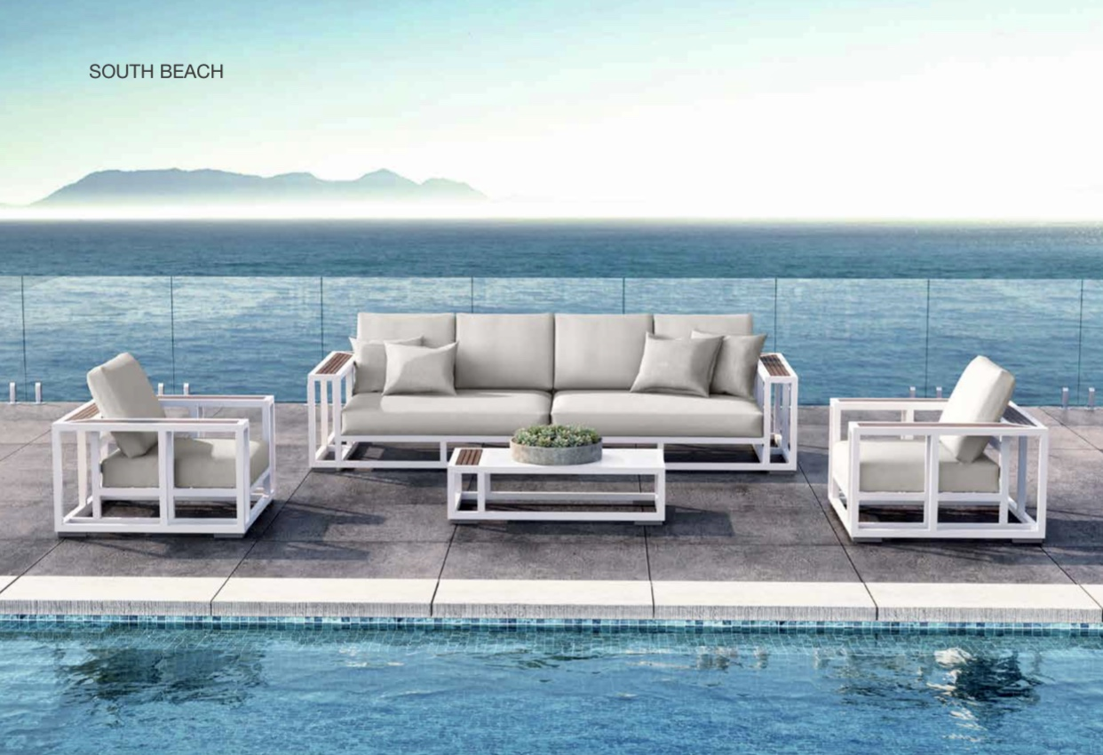 South Beach Corner Set
