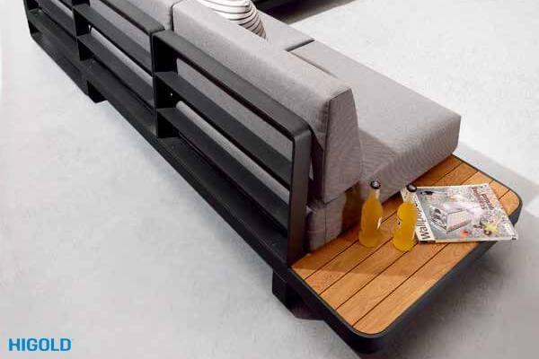 Угловой комплект для отдыха KAJA New Polo 305110