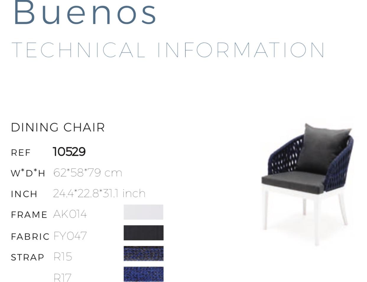 Столовый набор Buenos