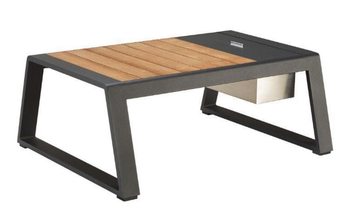 Кофейный столик из тикового дерева KAJA NEW YORK